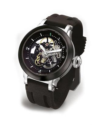 Steffen - Horloge Heren - Costructa II - Black/Black