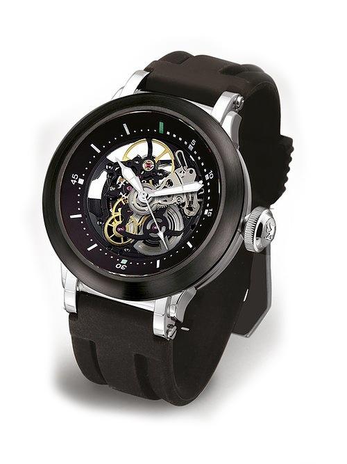 Steffen - Horloge Heren - Costructa II - Black/Black-1