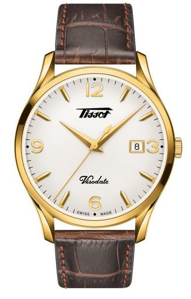 Tissot - Horloge Heren - Heritage Visodate - T1184103627700-1