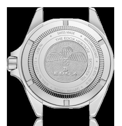 Edox - Horloge Heren - Sky Diver - 53017-3NM-NI-2