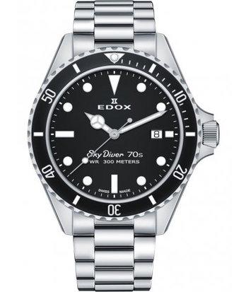 Edox - Horloge Heren - Sky Diver - 53017-3NM-NI