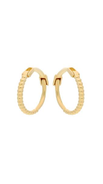 14 karaat geelgouden oorstekers - Jackie  - Mini Dots-3