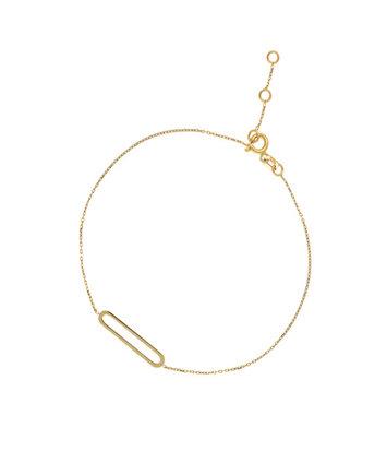 14 karaat geelgouden armband - Jackie - Link