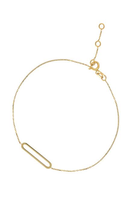 14 karaat geelgouden armband - Jackie - Link-3