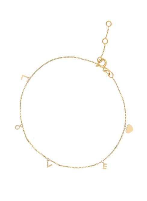 14 karaat geelgouden armband - Jackie - Love-1