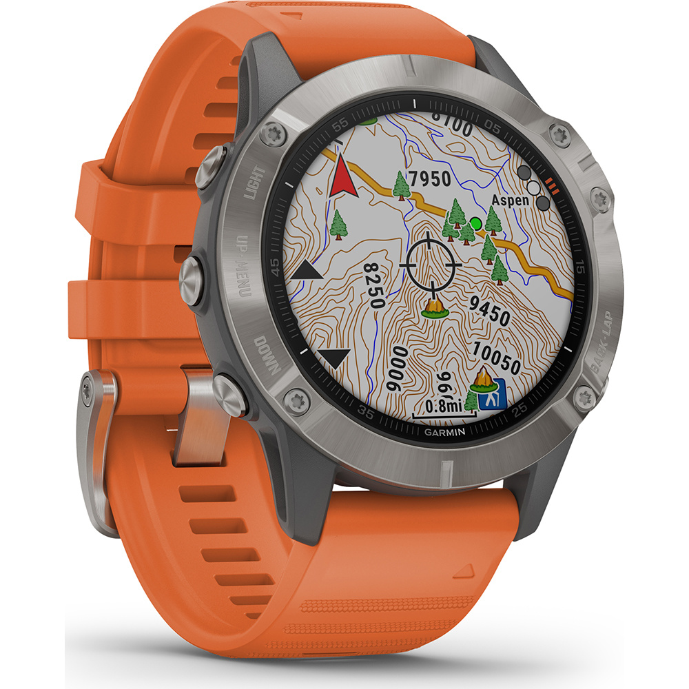 Garmin -  Horloge Heren - Fenix 6 Pro - Sapphire-3