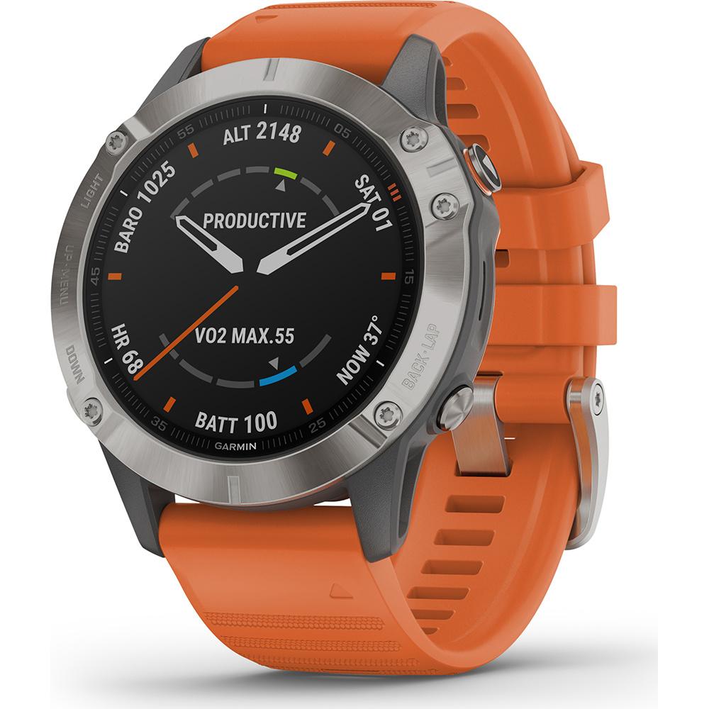 Garmin -  Horloge Heren - Fenix 6 Pro - Sapphire-1