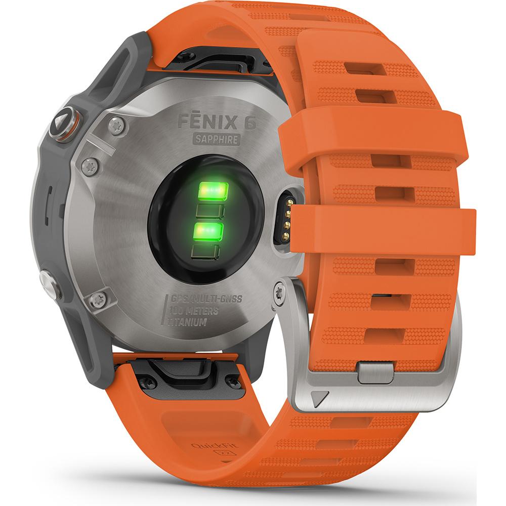 Garmin -  Horloge Heren - Fenix 6 Pro - Sapphire-2