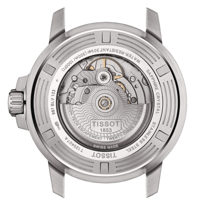 Tissot - Horloge Heren - Seastar 1000 - T1204071109100-2