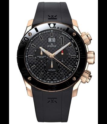 Edox - Horloge Heren - Chronoffshore - 10020-37R-NIR