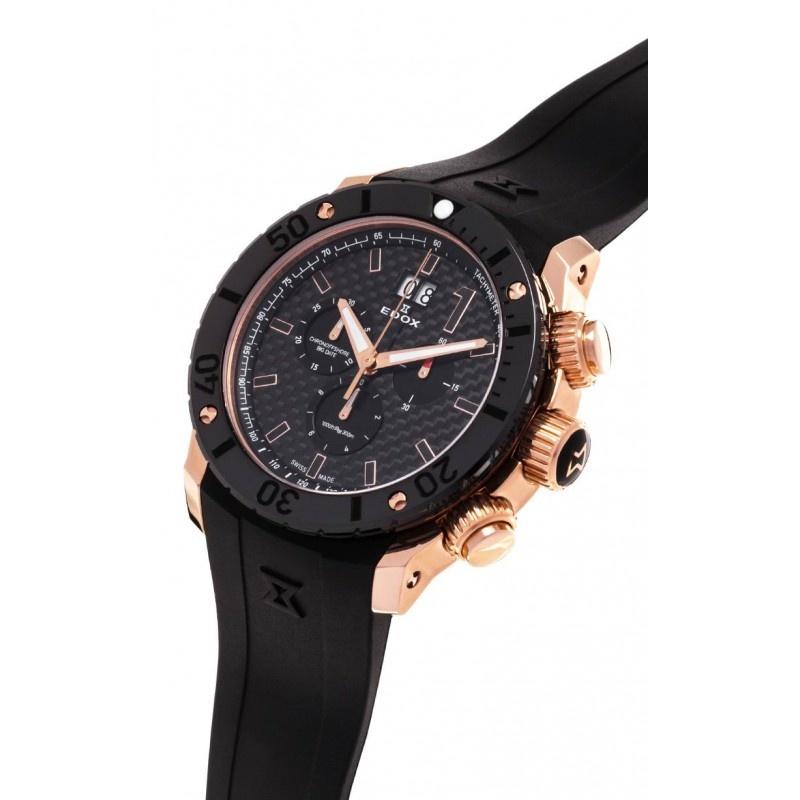 Edox - Horloge Heren - Chronoffshore - 10020-37R-NIR-2