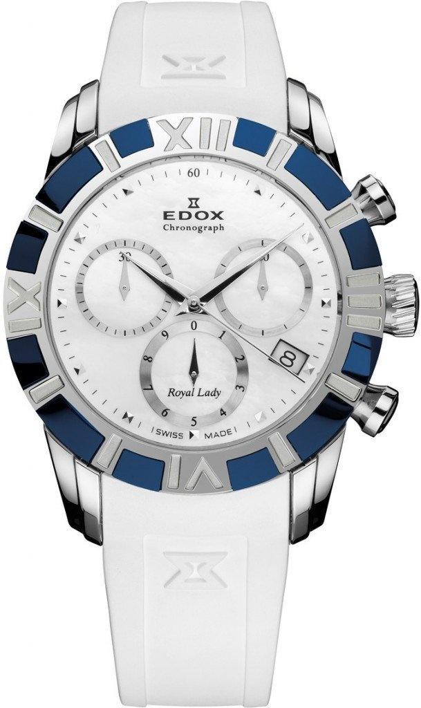 Edox - Horloge Dames - 10405-357B-NAIN-1