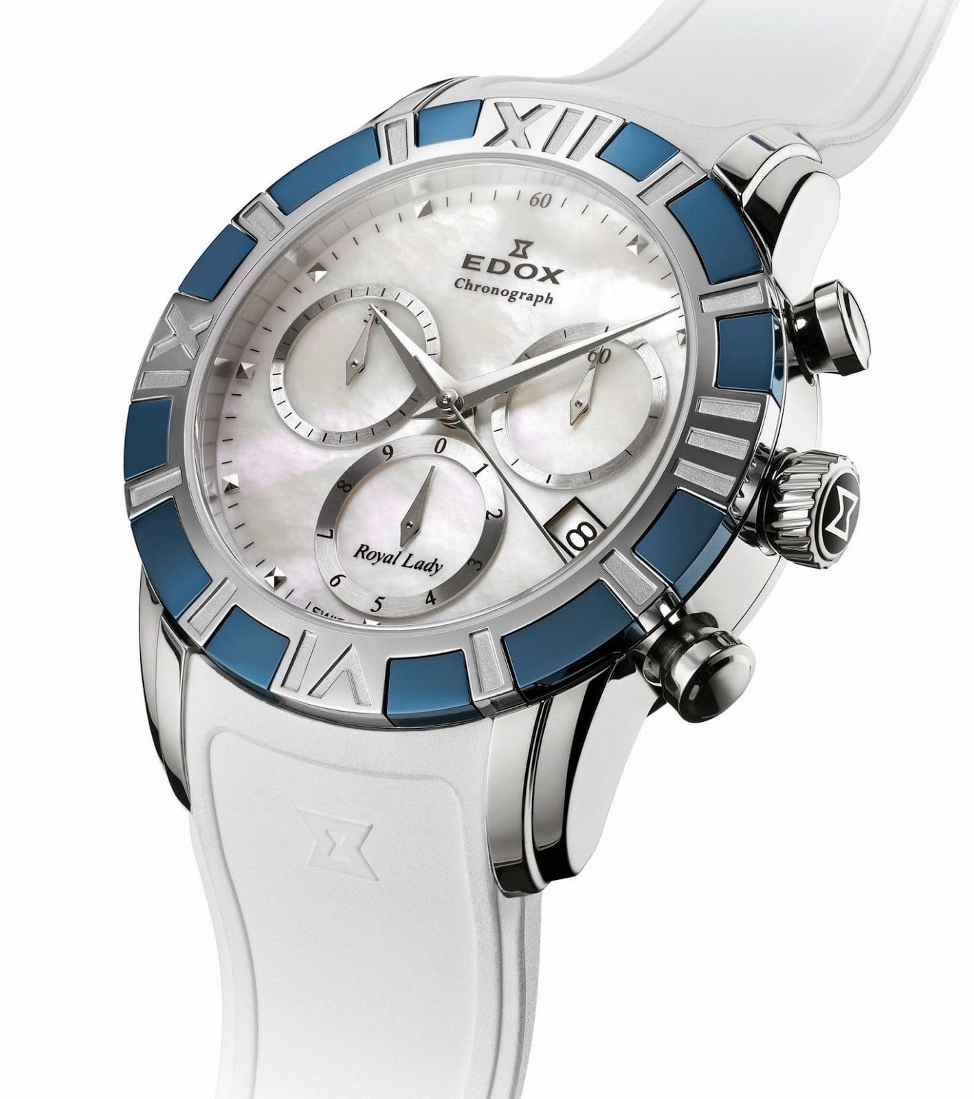 Edox - Horloge Dames - 10405-357B-NAIN-2