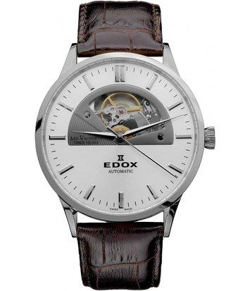 Edox - Horloge Heren - Les Vauberts - 85014 3 AIN