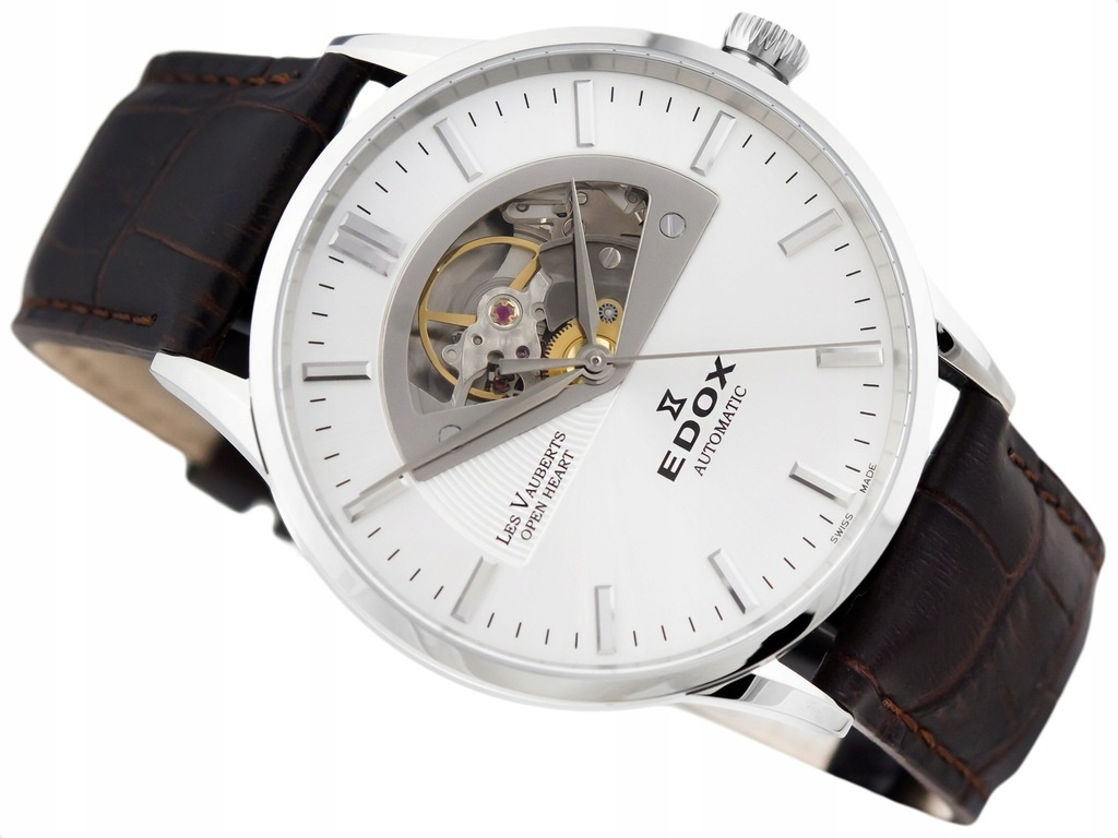 Edox - Horloge Heren - Les Vauberts - 85014 3 AIN-2