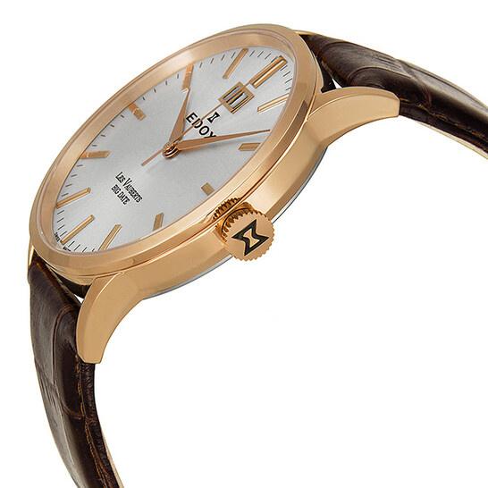 Edox - Horloge Heren - Les Vauberts - 63001 37R AIR-2