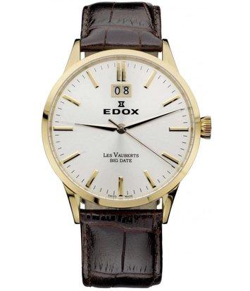 Edox - Horloge Heren - Les Vauberts - 63001 37R AIR