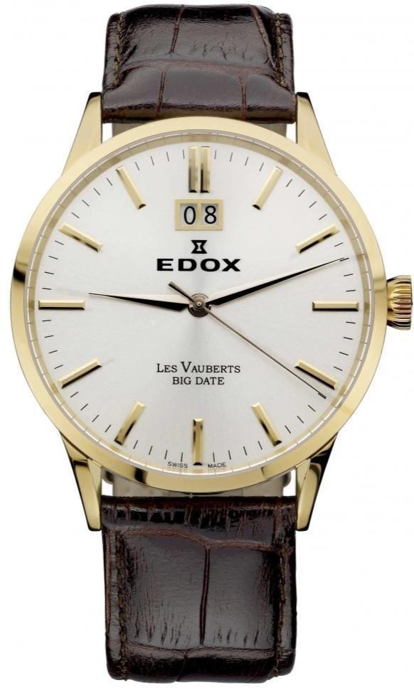 Edox - Horloge Heren - Les Vauberts - 63001 37R AIR-1