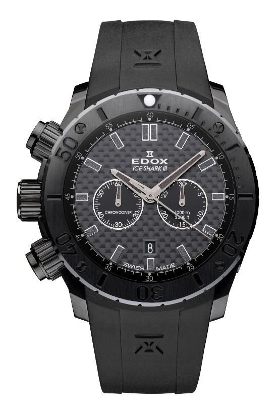 Edox - Horloge Heren - Limited Edition - Edox Iceshark III - 10304 37N2 GIN-1