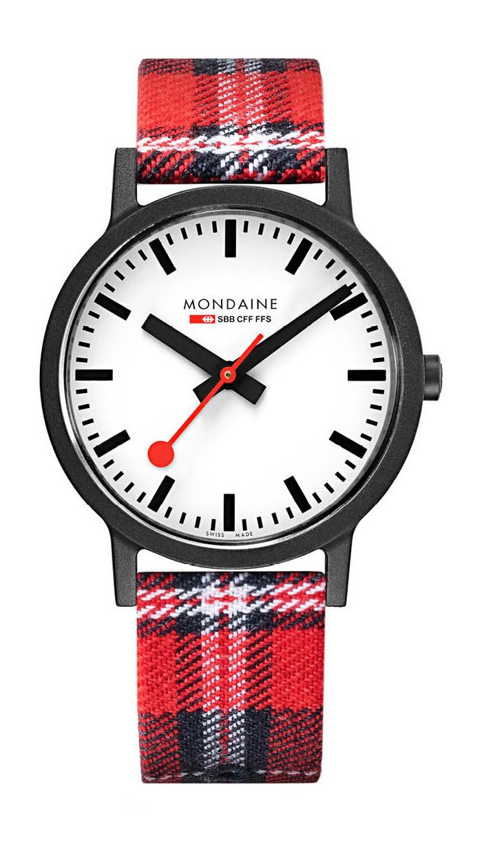 Mondaine - Horloge Unisex - Essence - MS1.41111.LC-1
