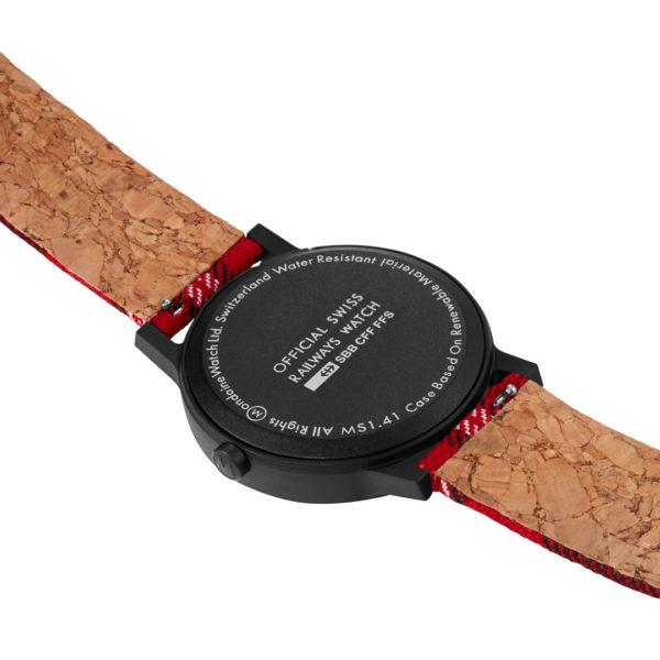 Mondaine - Horloge Unisex - Essence - MS1.41111.LC-4