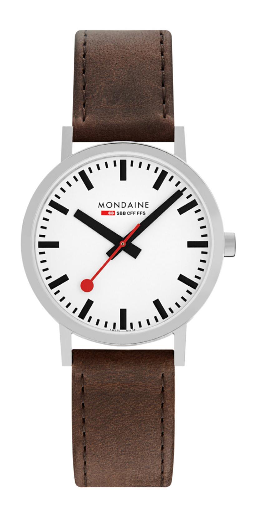 Mondaine - Horloge Unisex - SBB Classic - M660.30360.11SBG-1