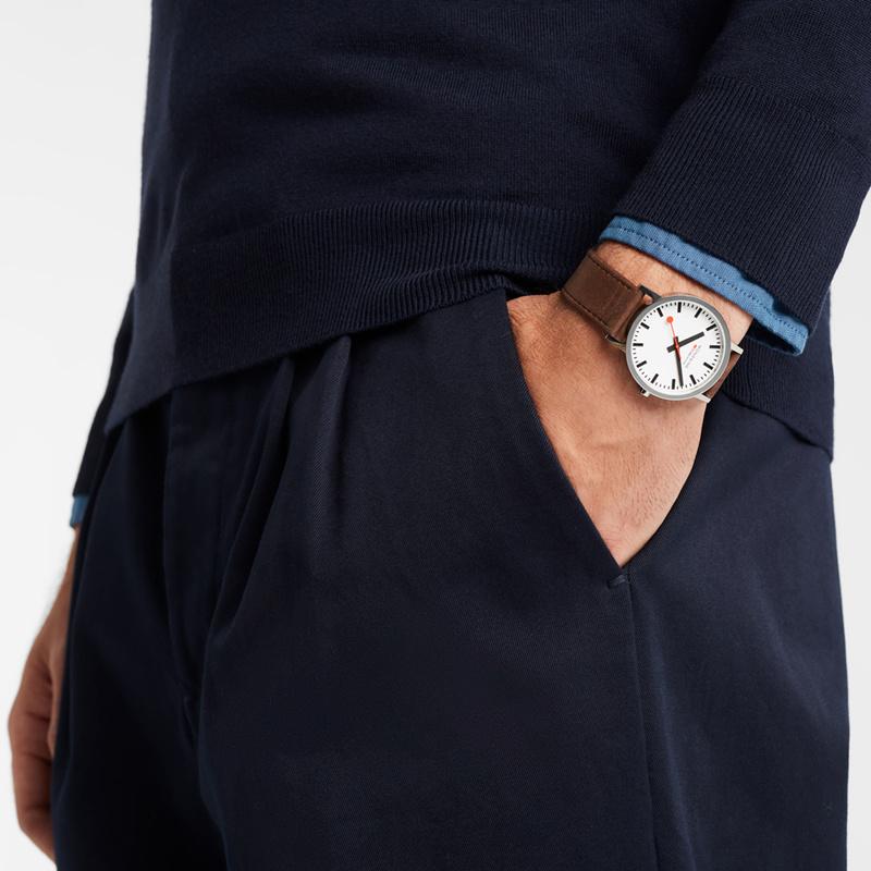Mondaine - Horloge Unisex - SBB Classic - M660.30360.11SBG-2