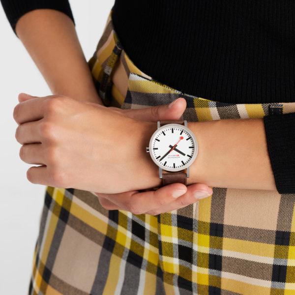 Mondaine - Horloge Unisex - SBB Classic - M660.30360.11SBG-3