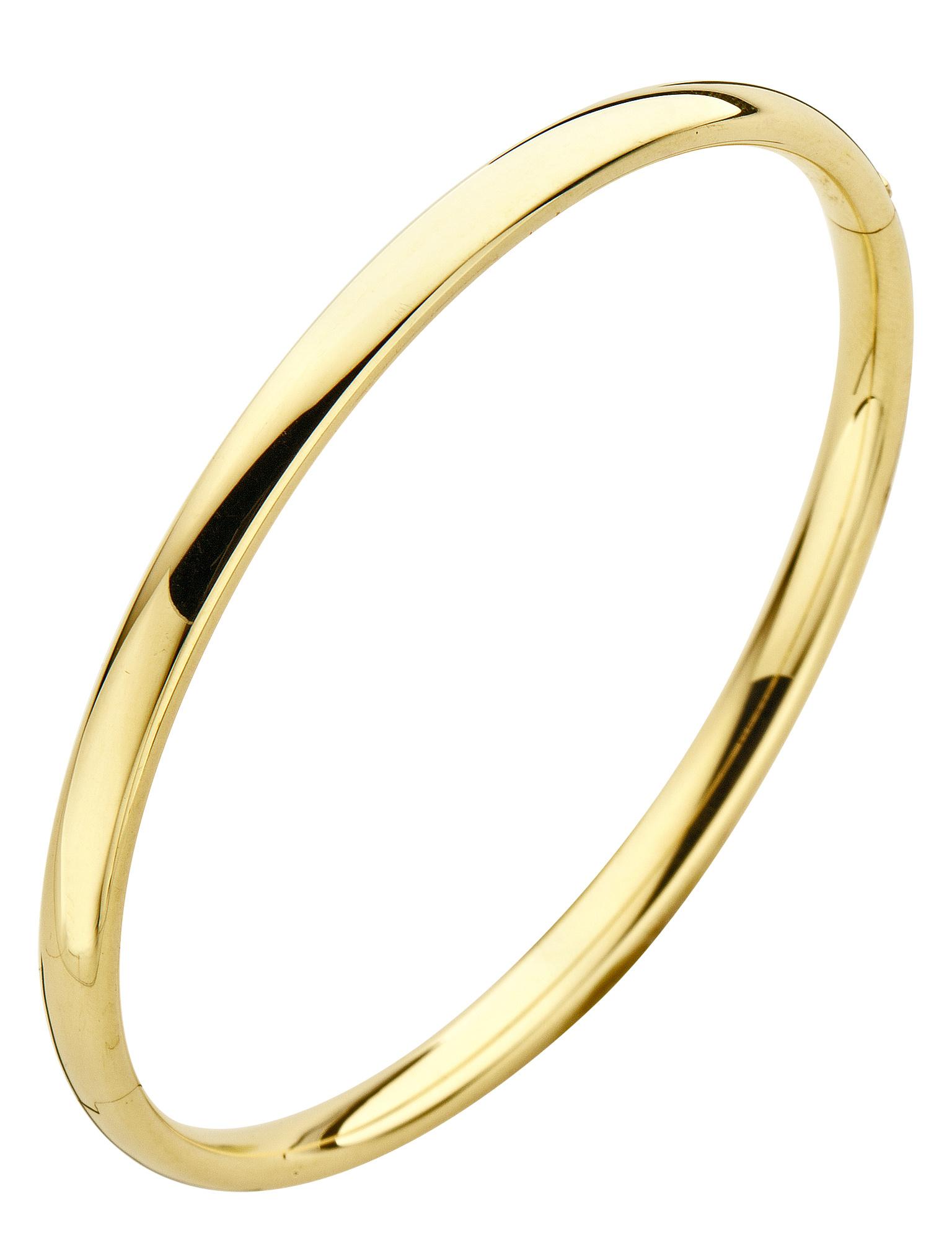 14 karaat geelgouden armband - Ovaal 4 mm - Fjory - Slavenarmband-1