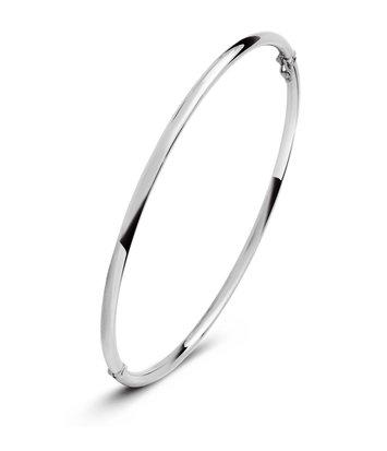14 karaat witgouden armband - Rond 2 mm - Fjory - Slavenarmband
