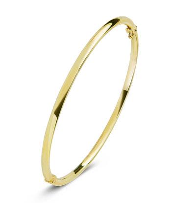 14 karaat geelgouden armband - Rond 3 mm - Fjory - Slavenarmband