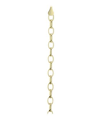 14 karaat geelgouden Jasseron armband - Fjory