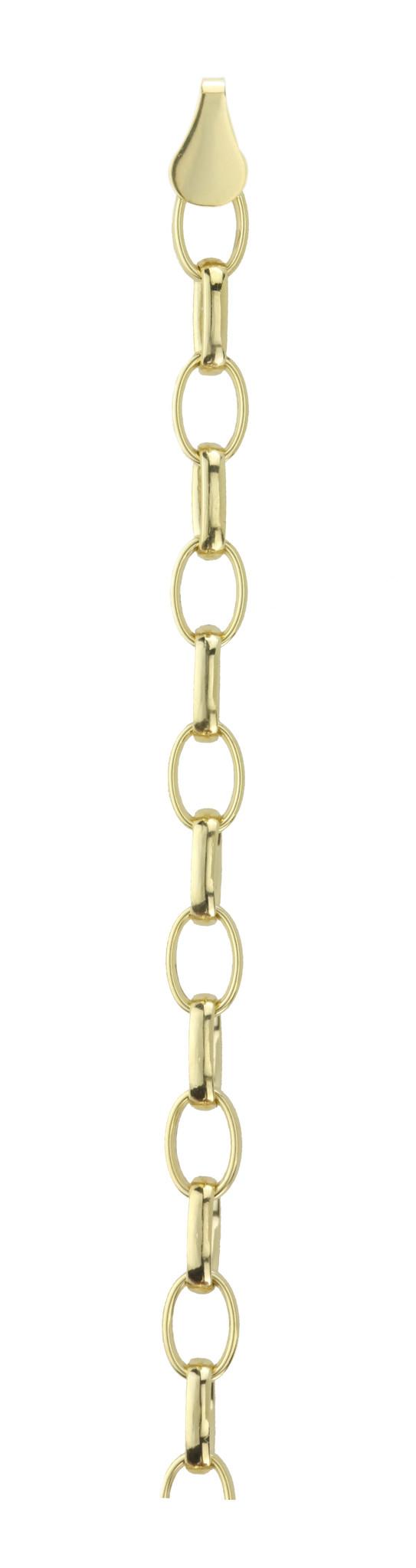 14 karaat geelgouden Jasseron armband - Fjory-1