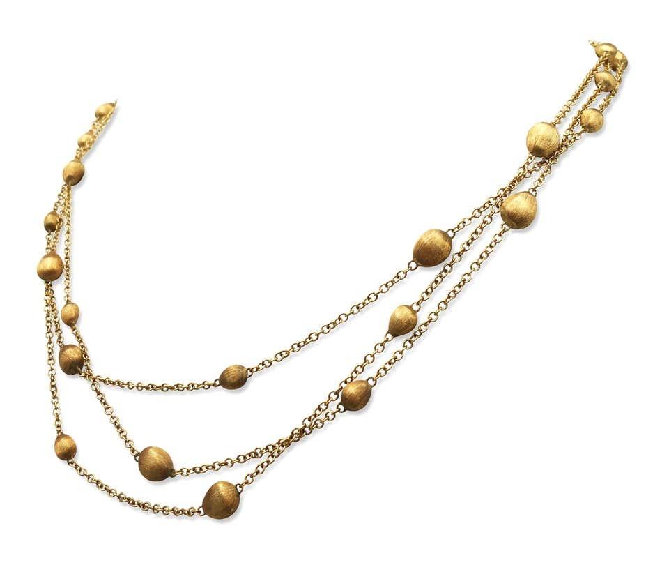 18 karaat geelgouden dames ketting - Marco Bicego - Confetti-2