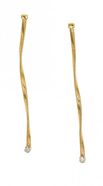 18 karaat geelgouden dames oorstekers - Marco Bicego - Marrakech-3