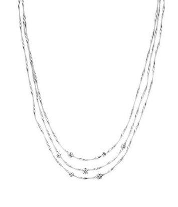 18 karaat witgouden dames ketting - Marco Bicego - Marrakech Diamant