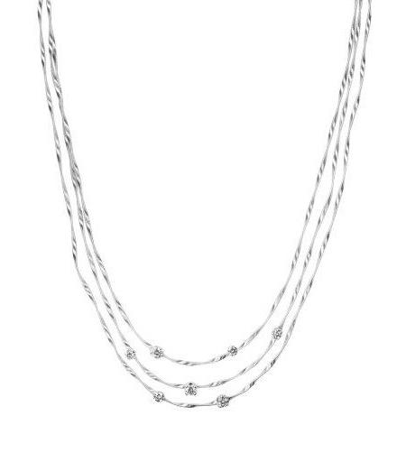 18 karaat witgouden dames ketting - Marco Bicego - Marrakech Diamant-1