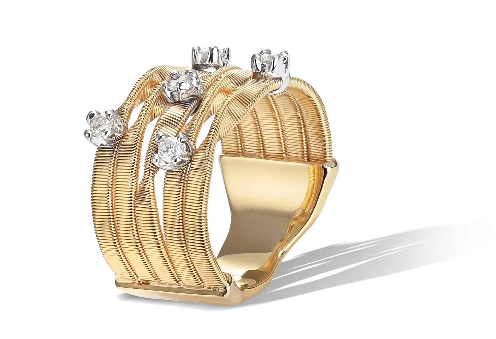 18 karaat geelgouden dames ring - Marco Bicego - Marrakech-3