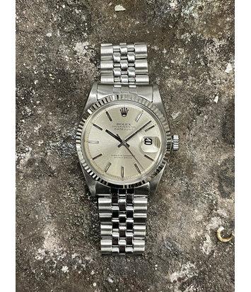 Rolex Datejust -  Horloge - 1601 - Silver Dial