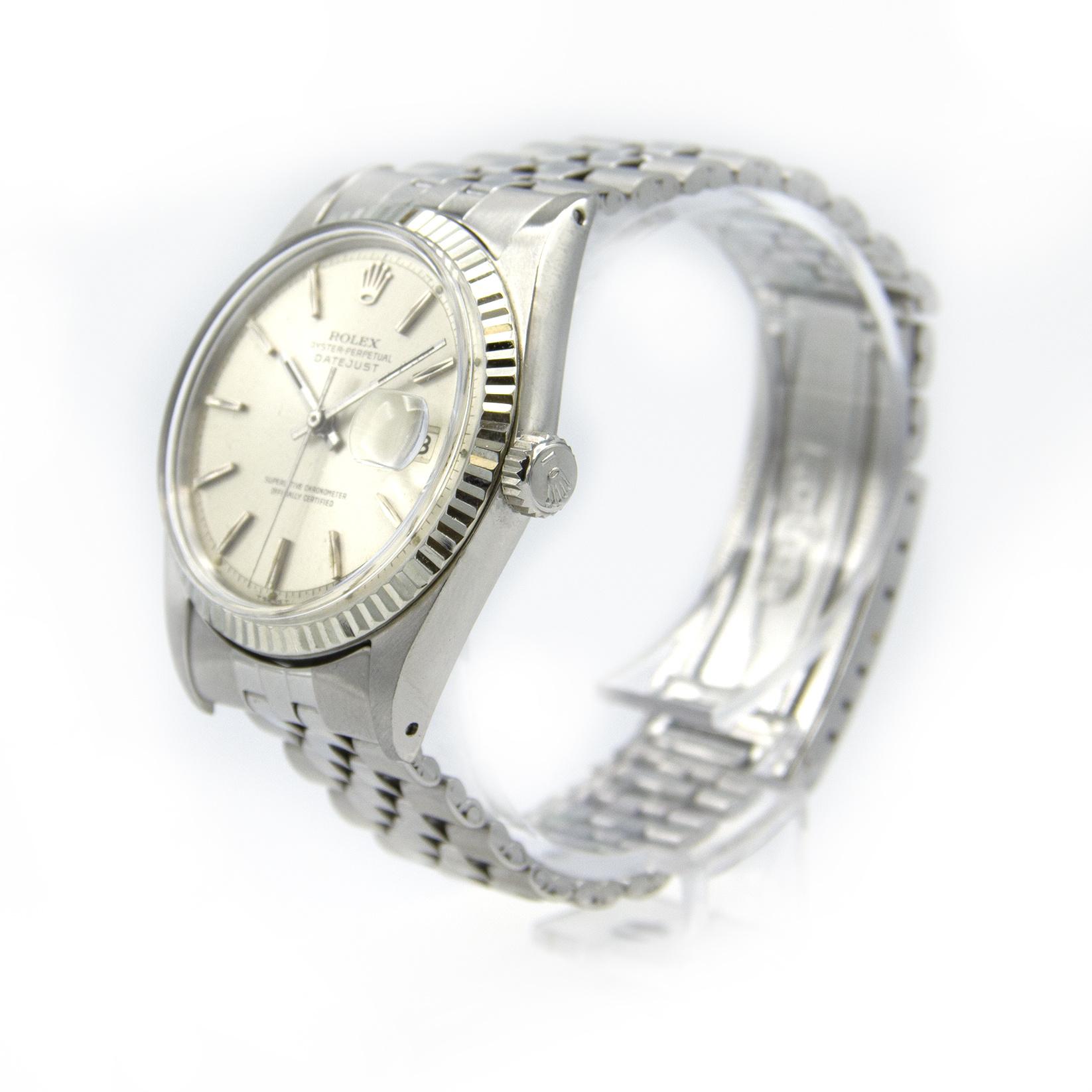 Rolex Datejust - 1601 - 36 mm-5