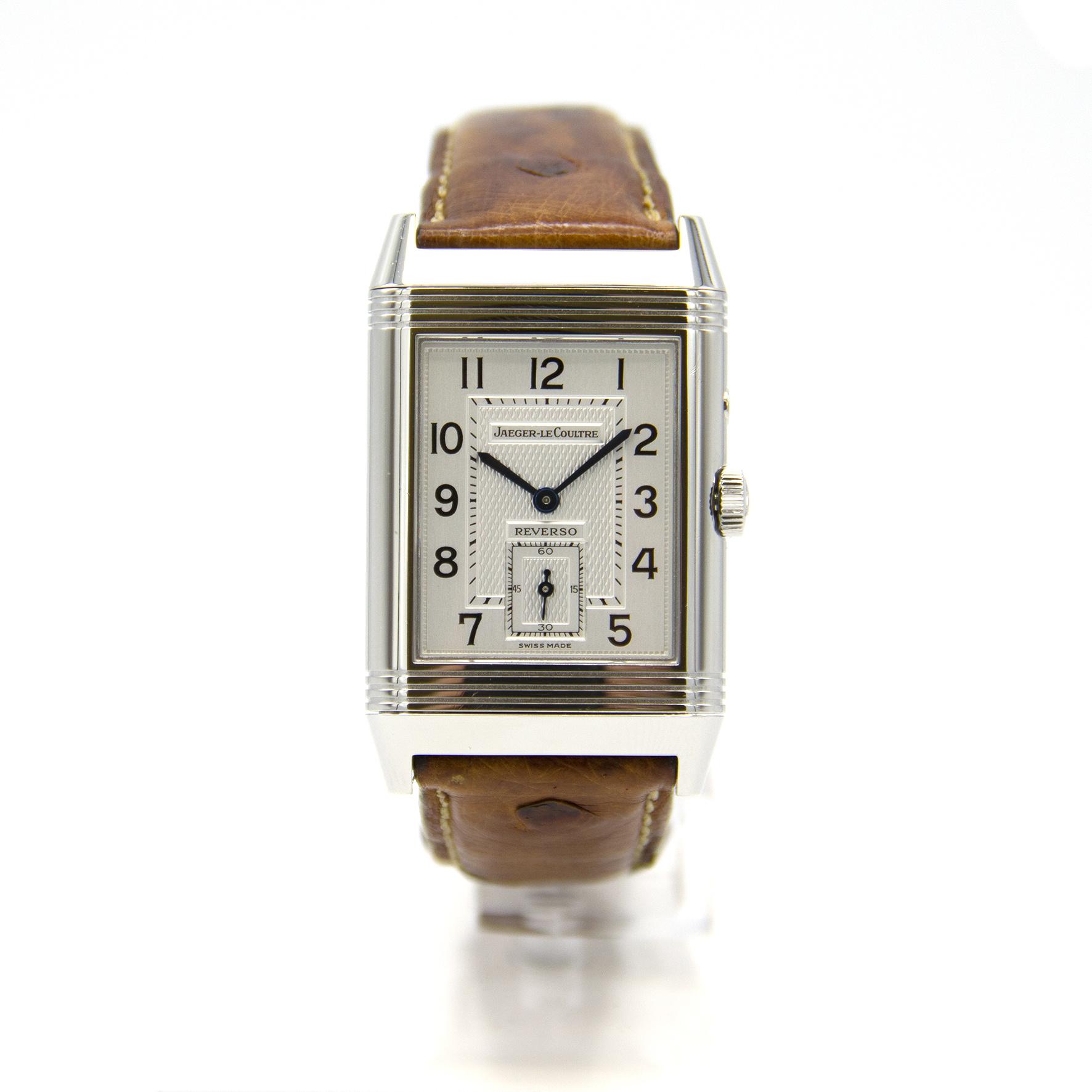 Jaeger-LeCoultre - Duo Face - Horloge Heren - 270.8.54-3