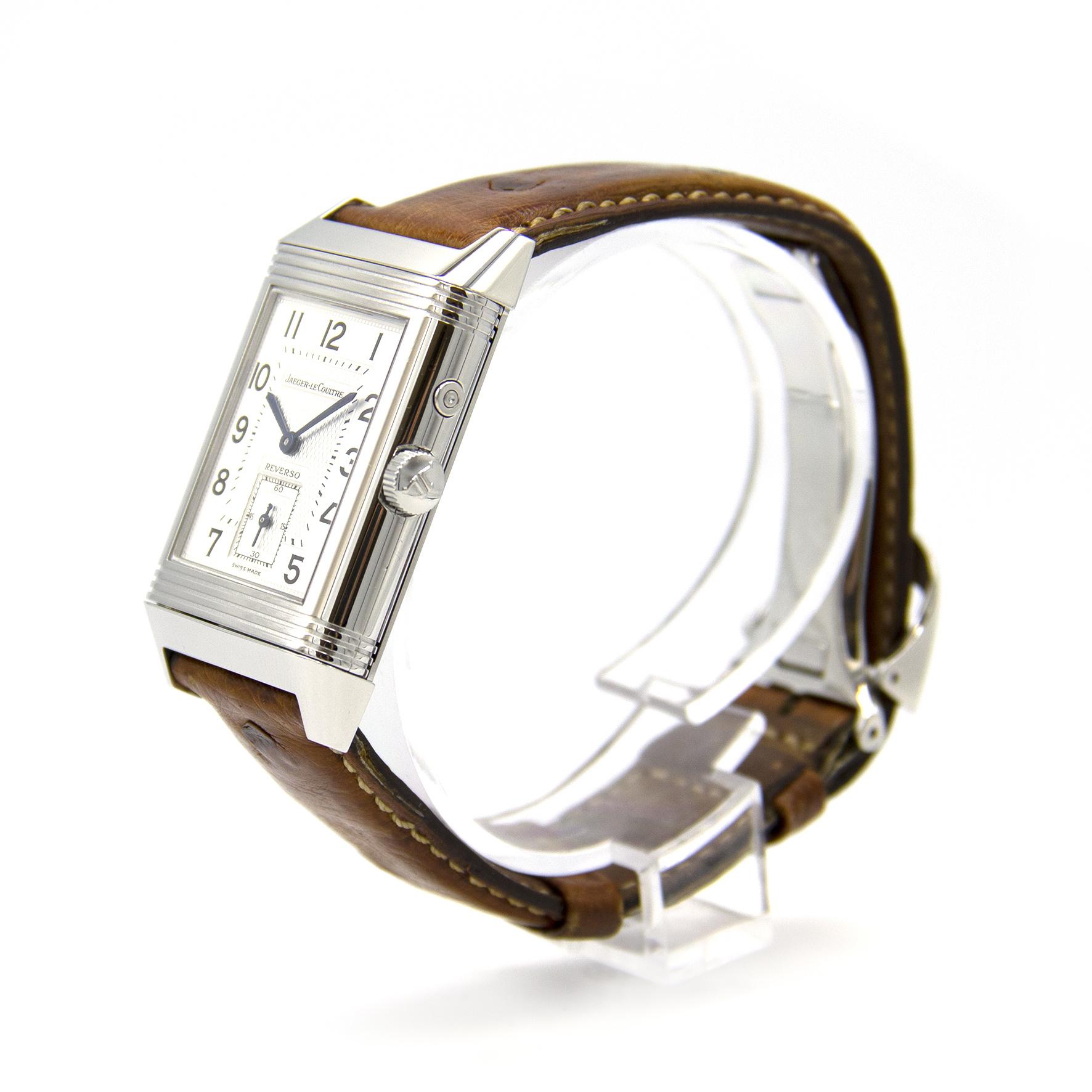 Jaeger-LeCoultre - Duo Face - Horloge Heren - 270.8.54-5