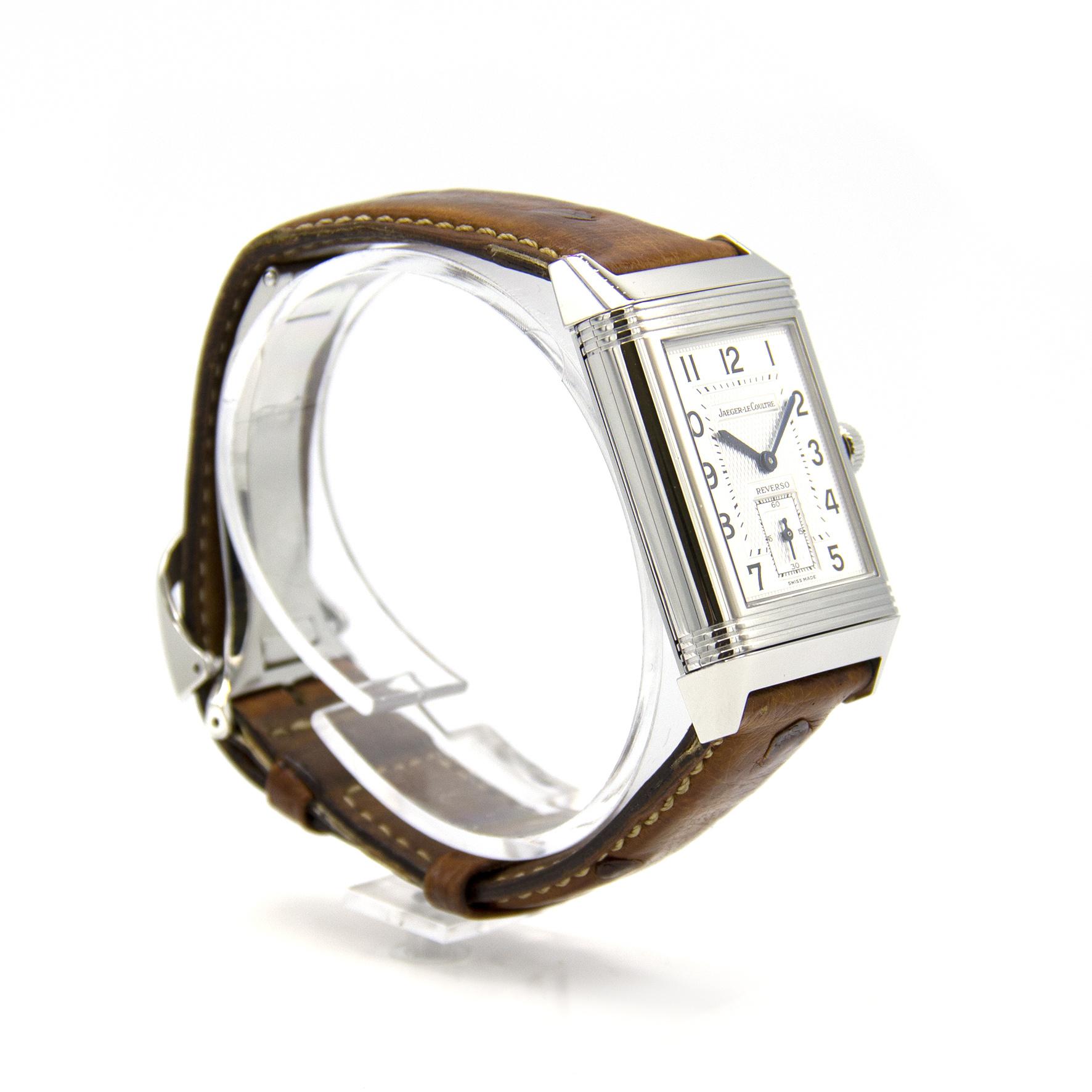 Jaeger-LeCoultre - Duo Face - Horloge Heren - 270.8.54-4