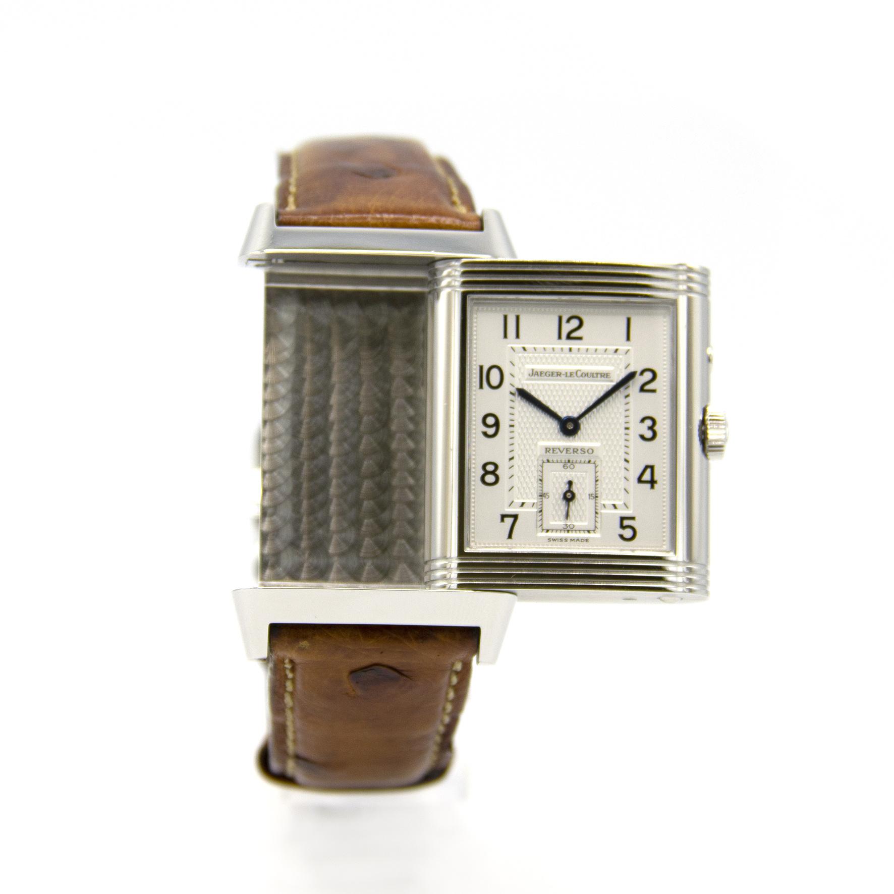 Jaeger-LeCoultre - Duo Face - Horloge Heren - 270.8.54-7