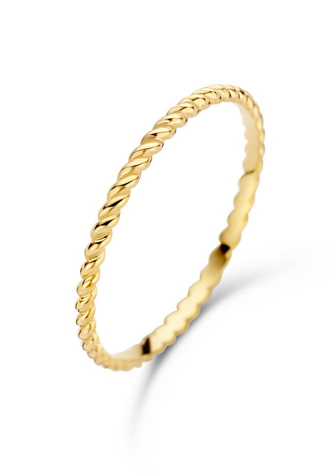 14 karaat geelgouden ring - Jackie - Twist-1