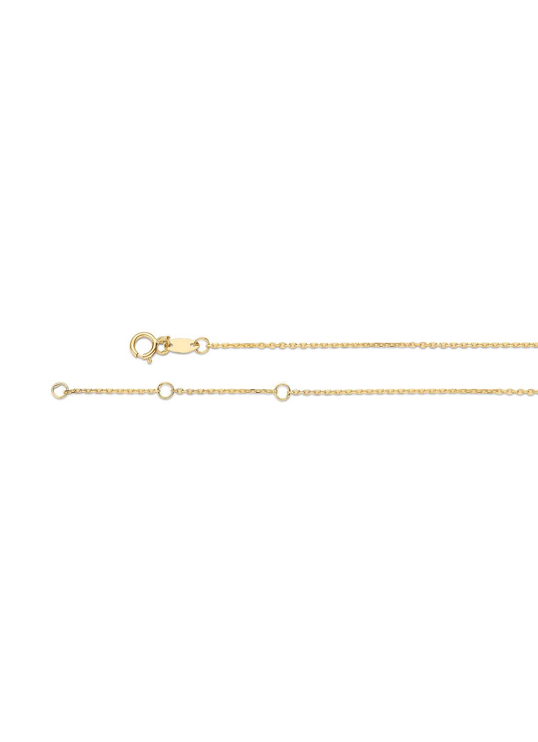 14 karaat geelgouden dames ketting - Jackie - Triple Bar Necklace-3