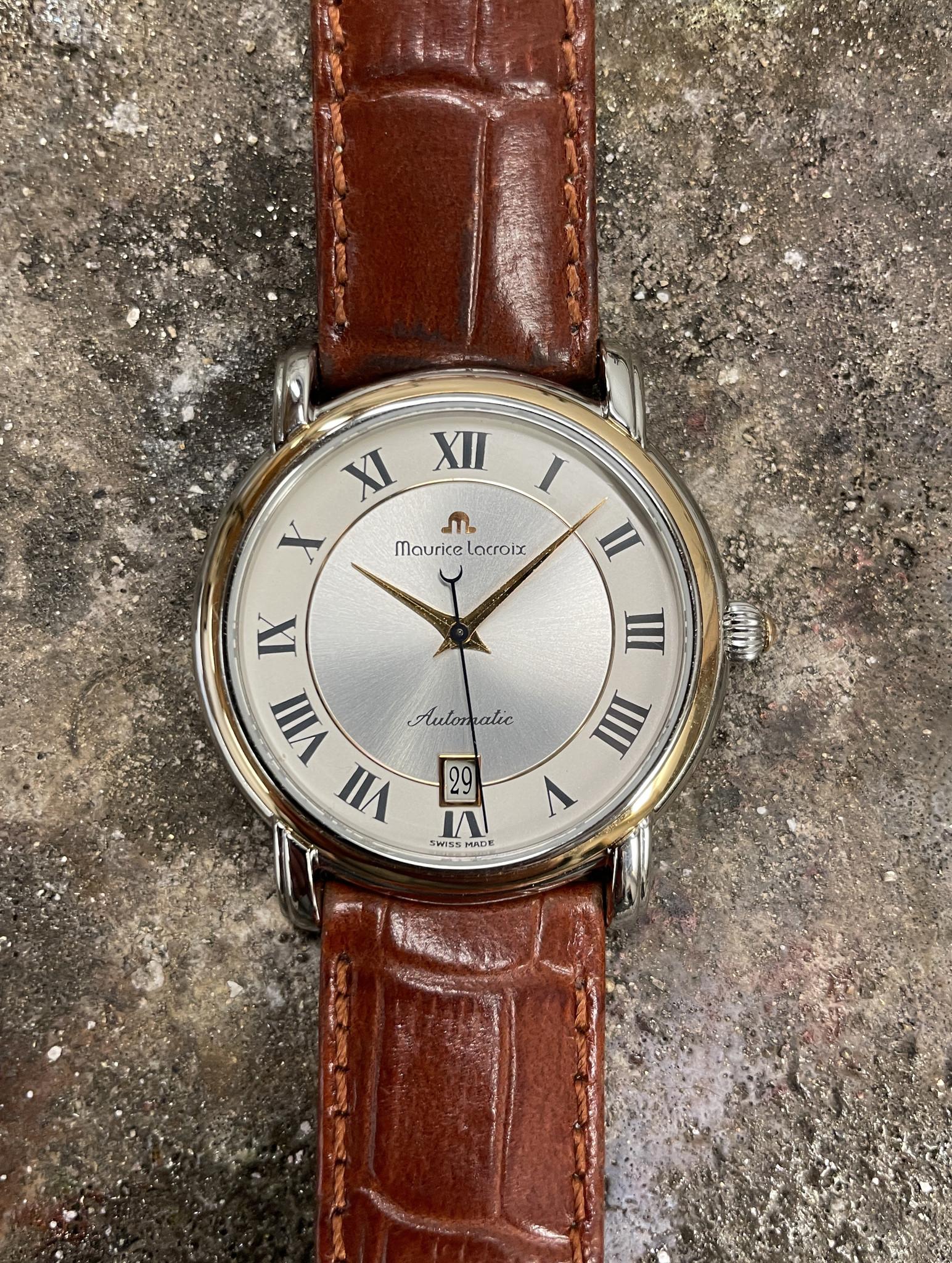 Maurice Lacroix - Horloge Heren - Pontos - 68775-1