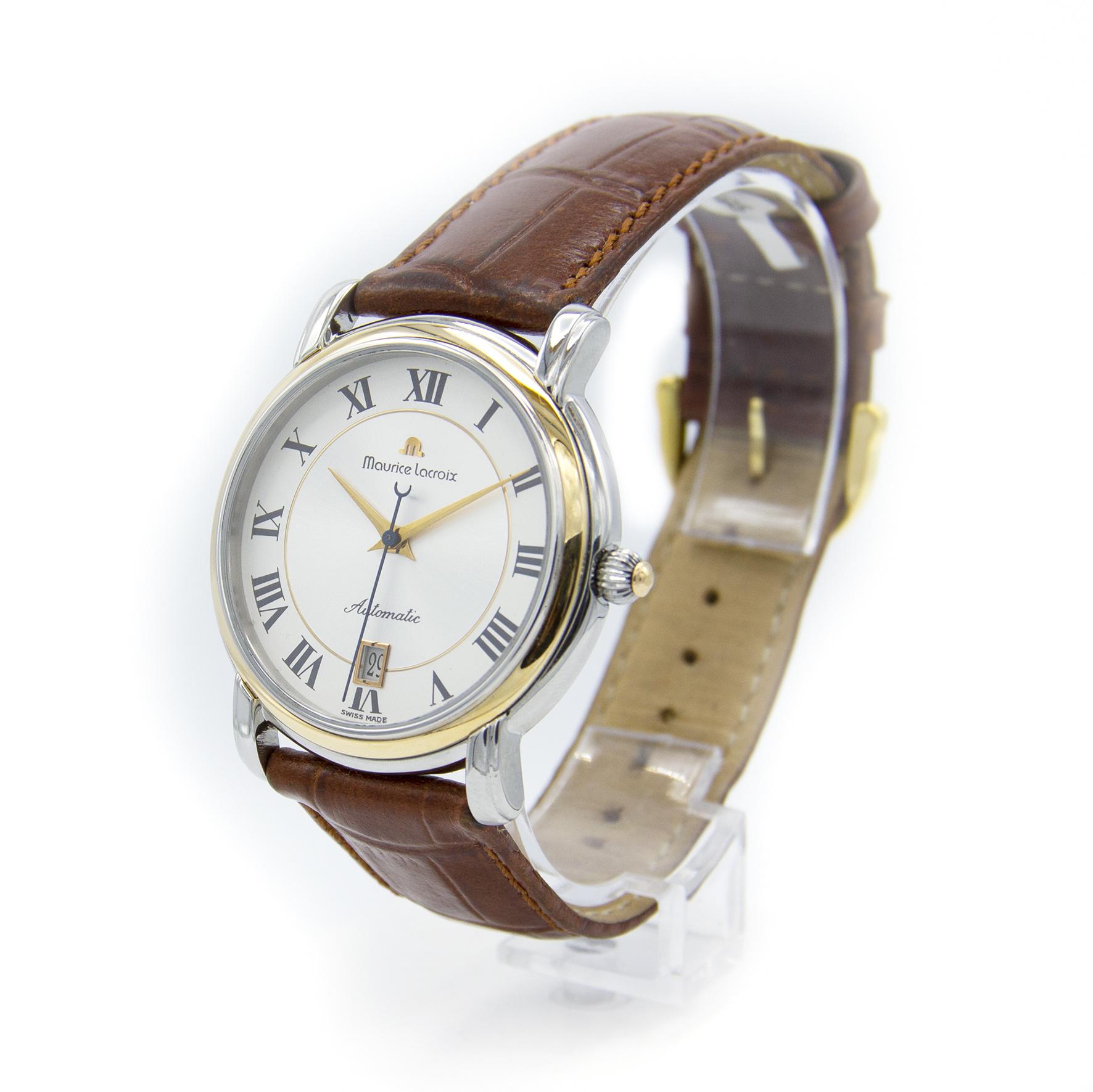 Maurice Lacroix - Horloge Heren - Pontos - 68775-4