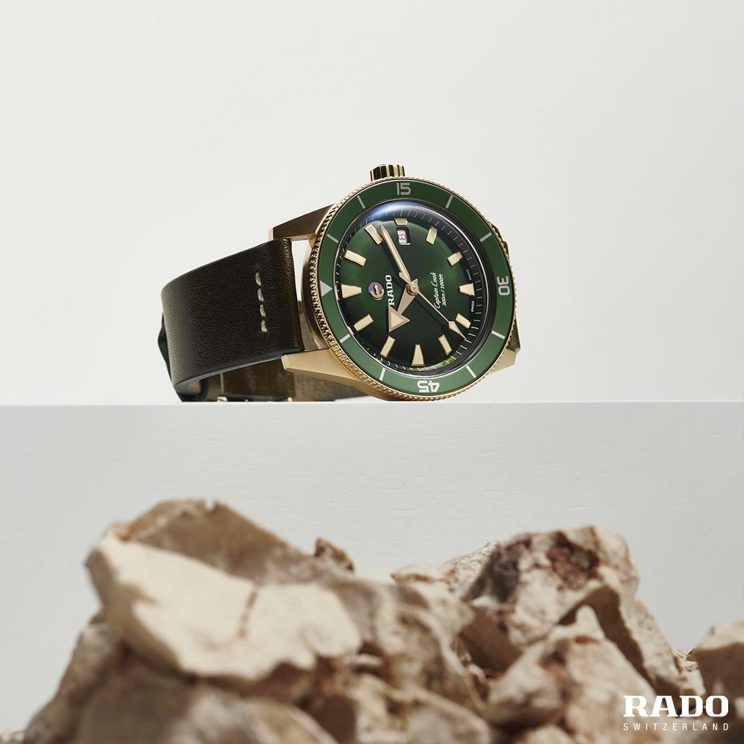 Rado - Horloge Heren - Captain Cook Bronze - R32504315-2