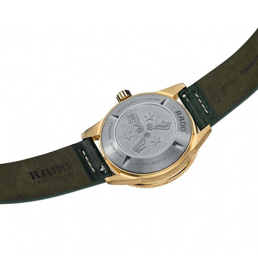 Rado - Horloge Heren - Captain Cook Bronze - R32504315-4